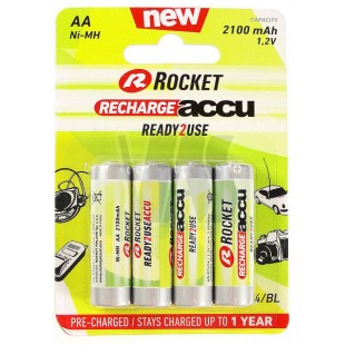 Аккумулятор Rocket Ready To Use AA 2100 mAh